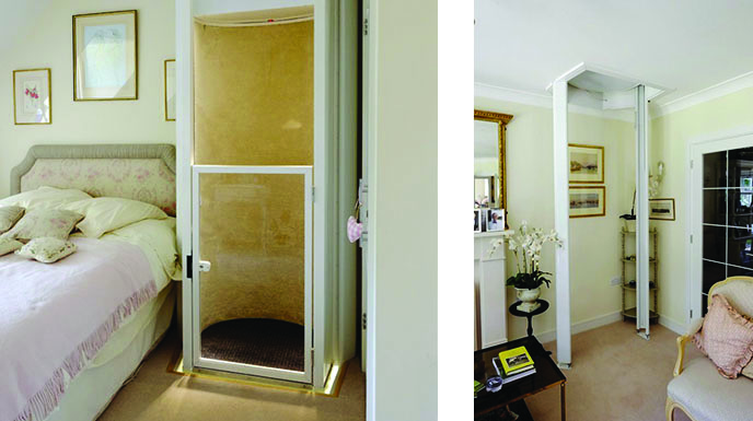 Residential elevator lifts installation and service for Home elevator kits