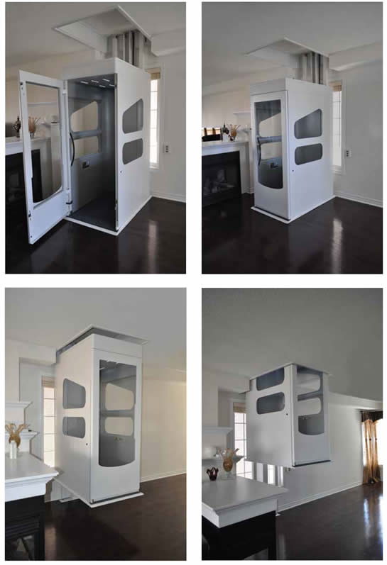Residential elevator lifts installation and service for for Elevators home